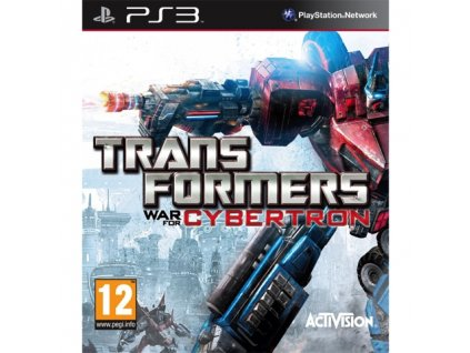 PS3 Transformers War for Cybertron
