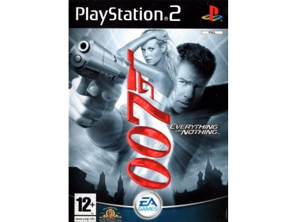 PS2 James Bond 007 Everything or Nothing