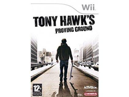 Wii Tony Hawks Proving Ground