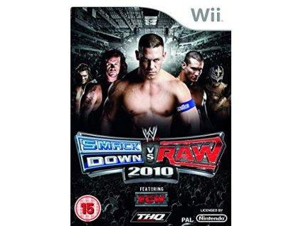 Wii WWE Smackdown vs Raw 2010