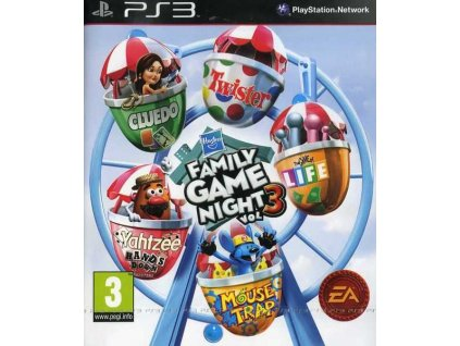 PS3 Hasbro Family Game Night Vol. 3