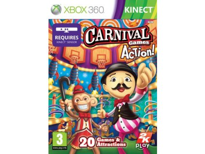 X360 Carnival Games In Action N