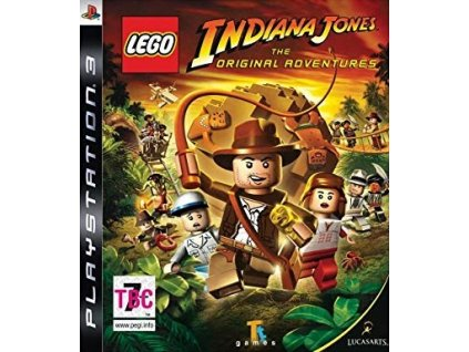PS3 Lego Indiana Jones The Original Adventures
