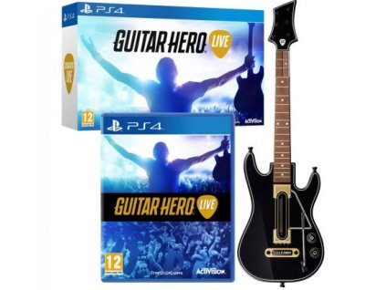 PS4 Guitar Hero Live + kytara