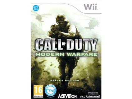 Wii Call of Duty Modern Warfare Reflex Edition
