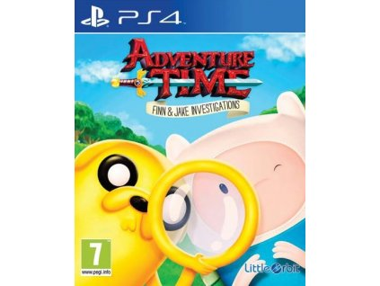 PS4 Adventure Time Finn and Jake Investigations