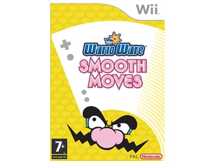 WarioWare Smooth Moves Coverart