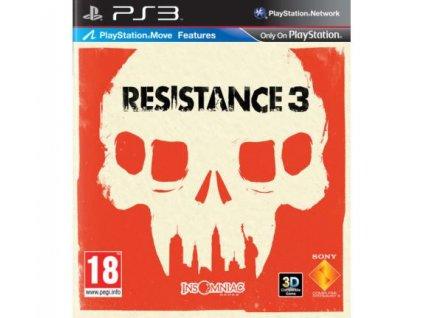 resistance 3 ps3 pouzite
