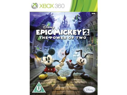 X360 Disney Epic Mickey 2 The Power of Two