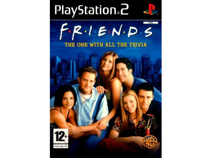 116297 friends the one with all the trivia playstation 2 front cover