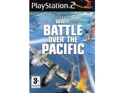 PS2 WWII Battle Over The Pacific