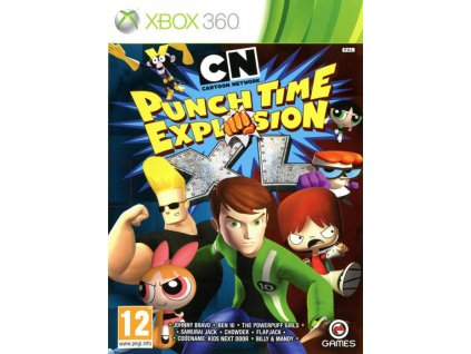 X360 Cartoon Network Punchtime Explosion XL