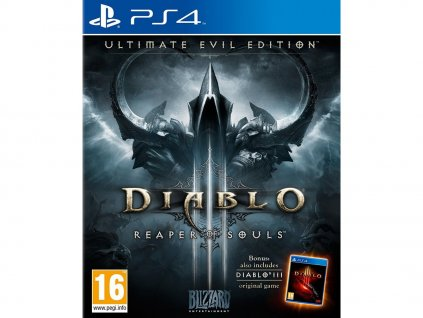 PS4 Diablo 3 Reaper of Souls Ultimate Evil Edition
