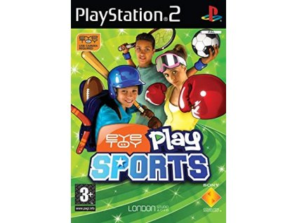 PS2 Eyetoy Play Sports CZ