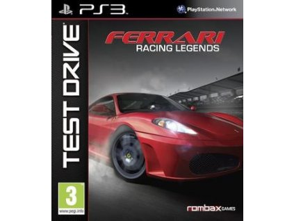PS3 Test Drive Ferrari Racing Legends