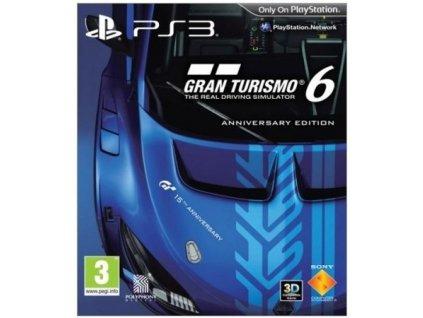 PS3 Gran Turismo 6 Anniversary Edition Steelbook CZ