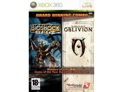 X360 Bioshock + The Elder Scrolls Oblivion