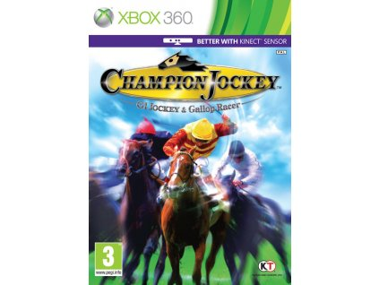 X360 Champion Jockey G1 Jockey and Gallop Racer