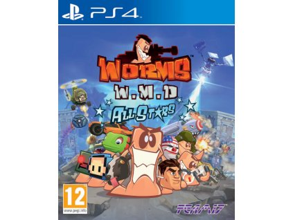 PS4 Worms W.M.D All Stars Nové
