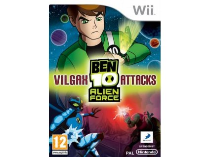 Wii Ben 10 Alien Force Vilgax Attacks