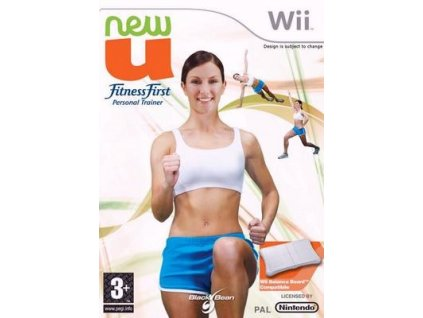 Wii NewU FitnessFirst Personal Trainer