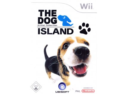 385827 the dog island wii front cover