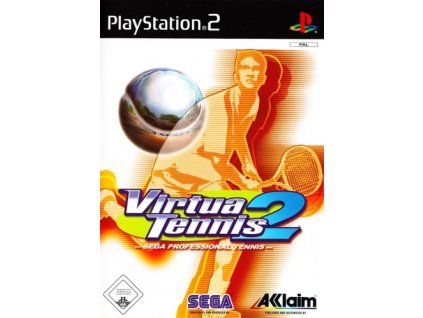 PS2 Virtua Tennis 2