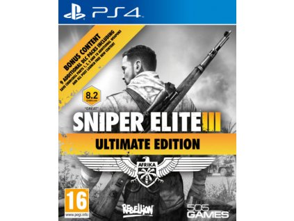 PS4 Sniper Elite 3 Ultimate Edition Nové