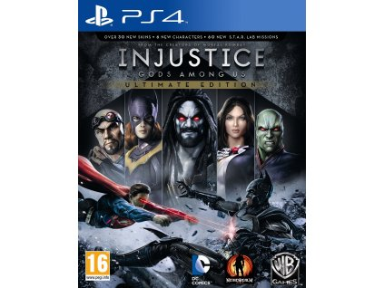injustice gods among us ultimate edition ps4 c1rv