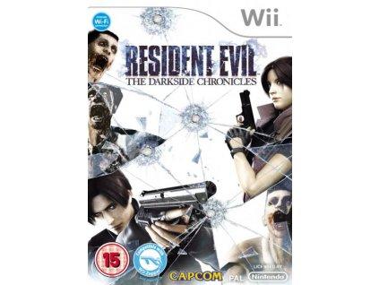 Wii Resident Evil The Darkside Chronicles