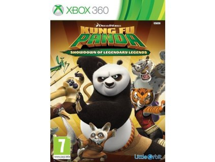 X360 Kung Fu Panda Showdown of Legendary Legends