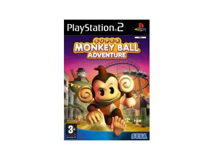 PS2 Super Monkey Ball Adventure