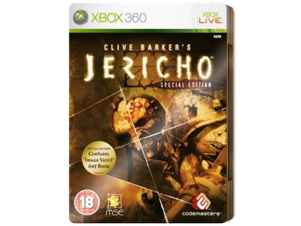 X360 Clive Barkers Jericho Special Edition Steelbook