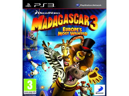 PS3 Madagascar 3 Europes Most Wanted