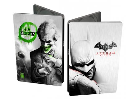 X360 Batman Arkham City Joker Steelbook Edition