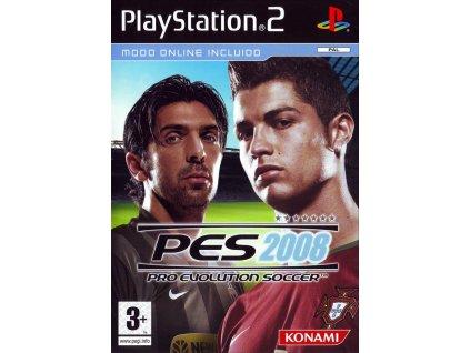 PS2 Pro Evolution Soccer 2008