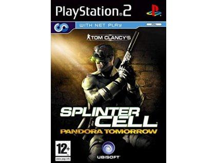 PS2 Tom Clancys Splinter Cell Pandora Tomorrow