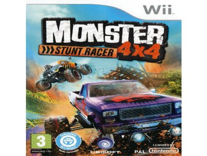 WII MONSTER 4x4 STUNT RACER BID TO WIN 20180629200653.2197490015