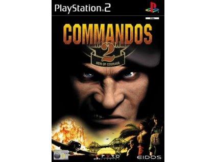 PS2 Commandos 2 Men of Courage