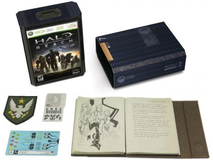 X360 Halo Reach Limited Collectors Edition