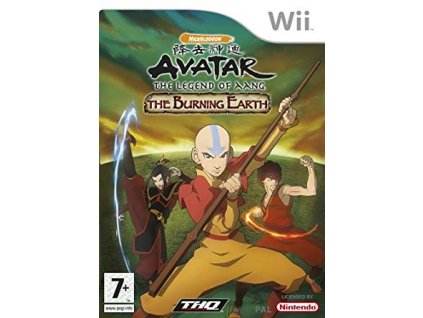 Wii Avatar The Legend of Aang The Burning Earth