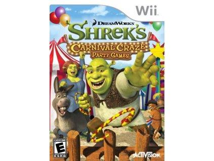 Wii Shreks Carnival Craze Party Games