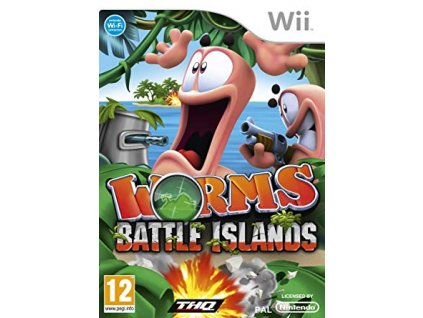 Wii Worms Battle Islands