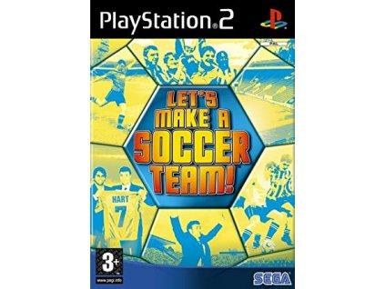 PS2 Lets Make A Soccer Team!