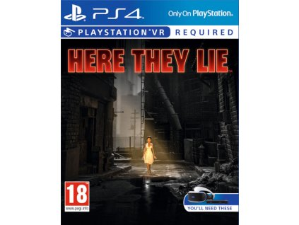 vyr 605here they lie ps4 vr