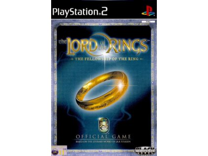 the lord of the rings the fellowship of the ring ps2 pouzite