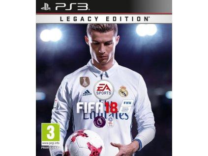 PS3 FIFA 18 Legacy Edition Nové