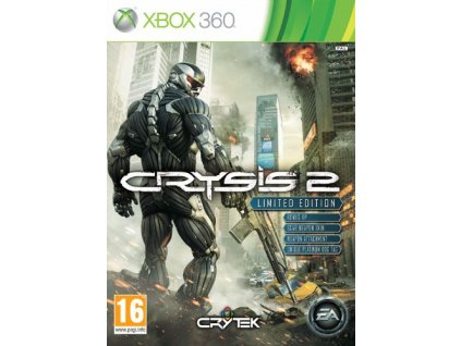 X360 Crysis 2 Limited Edition