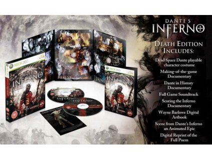 X360 Dantes Inferno Death Edition