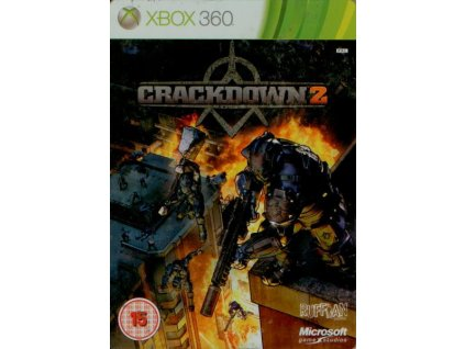 X360 Crackdown 2 Steelbook CZ
